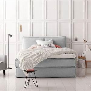 Nachttisch Boxspringbett Ikea : boxspringbetten betten mit hohem schlafkomfort living at home ~ Orissabook.com Haus und Dekorationen