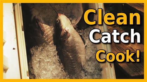 catch cook clean fishing jug adventure