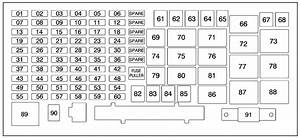 2009 Hummer H3 Fuse Box Diagram