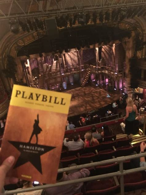 richard rodgers theatre section rear mezzanine  row