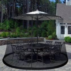 new 7 5 foot outdoor patio umbrella screen mosquito pest