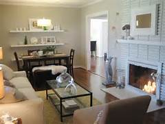 Living Room Dining Room Combo Lighting Ideas by Painting An Old Brick Fireplace Simplified Bee