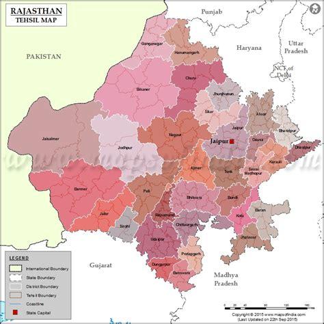 tehsils  rajasthan