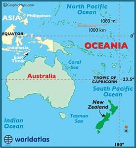Map Of New Zealand New Zealand Map Geography Of New