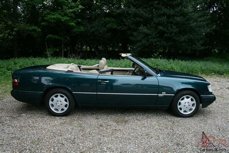 mercedes e320 sportline cabriolet 96 p only 1 previous owner