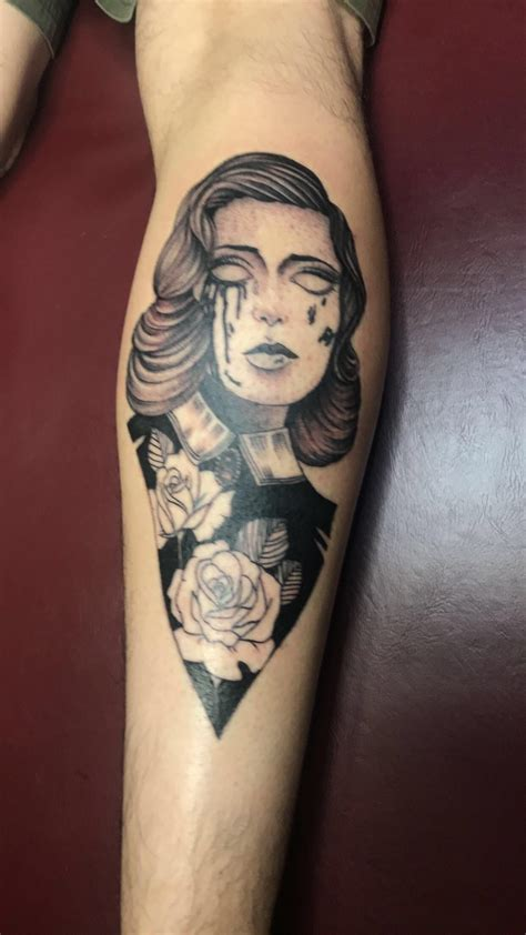 foto de My fresh Elizabeth from Bioshock Infinite tattoo Houston