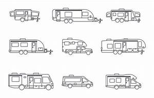 Top 60 Rv Camper Clip Art  Vector Graphics And