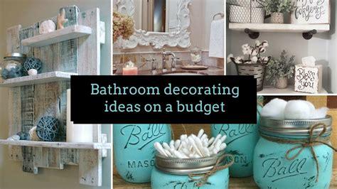 Astonishing Diy Bathroom Decorating Ideas On A Budget Home