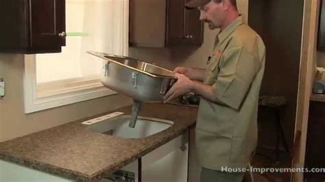 how to replace your kitchen sink how to install a kitchen sink 8889