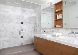 Bathroom Look At These White Marble Bathroom Wall Tiles Ideas Below Marble Is The Material For You Marble Tiles Are A Fantastic Addition Stone Tile Mixture Of Sizes Bathroom Tile Photos Slideshow