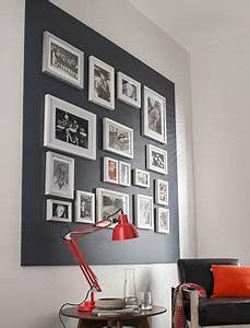 Créer Un Cadre Photo : cr er un mur de cadres mur de cadre cadre photo frame et home decor ~ Melissatoandfro.com Idées de Décoration