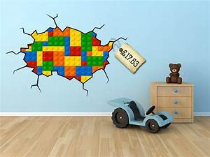 spotted lego wall sticker decal love it littlestuff With lego wall decals
