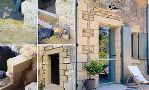 Faire Une Ouverture Dans Un Mur Porteur En Parpaing : comment faire une ouverture dans un mur porteur en pierre ~ Melissatoandfro.com Idées de Décoration