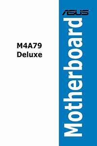 Asus M4a79 Deluxe User Manual
