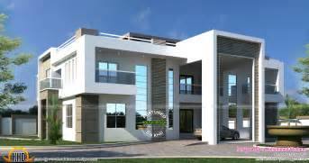 home plan designers flat roof arabian house plan kerala home design and floor plans