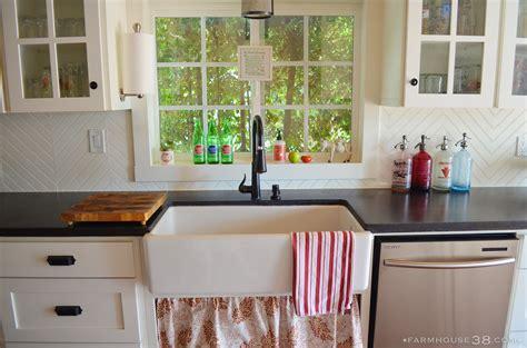 Ideas Tips Decor Tips Window Trim And Farmhouse Sink
