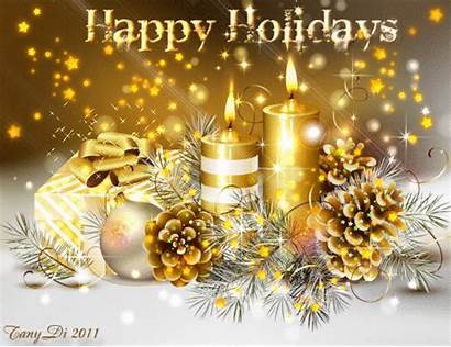 Happy Animated Holiday Merry Holidays Christmas Gifs