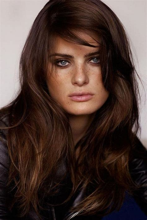 Chocolate Brown Hair by Best 25 Chocolate Brown Hair Ideas On