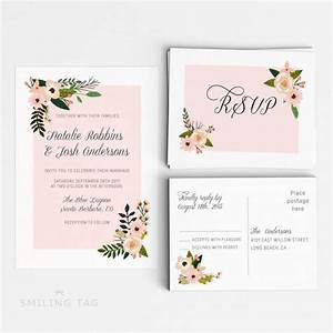 printable wedding invitation suite printable wedding With wedding invitation suite sizes