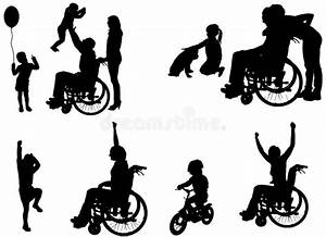 Disabled Life Set Stock Vector  Illustration Of Concept
