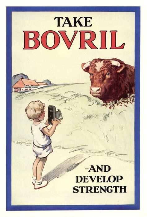 bovril ad    bull  camera flashbak