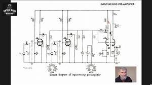 Valve Amplifier Study 009  Stern Mullard Mixer  Valve Mic