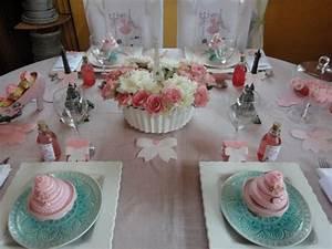 Nappe Rose Pale : une table d 39 anniversaire girly et gourmande ~ Teatrodelosmanantiales.com Idées de Décoration