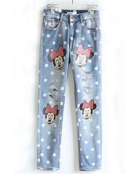 jeans disney disney princess disney minnie mouse boyfriend jeans disney punk wheretoget