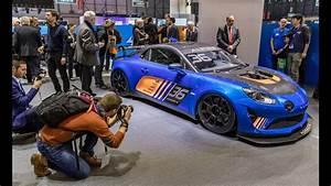 Alpine A110 Gt4 : d couverte de la nouvelle alpine a110 gt4 gims 2018 geneva international motor show 2018 youtube ~ Medecine-chirurgie-esthetiques.com Avis de Voitures