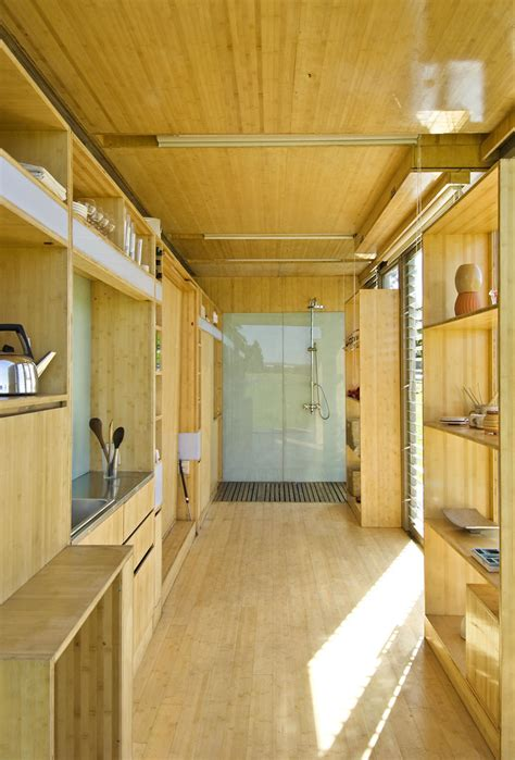 port  bach shipping container home idesignarch