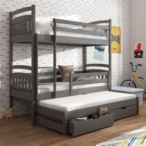 lit superpose pour 3 personnes maison design hosnya