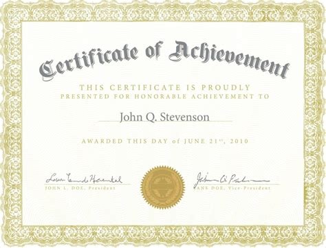 printable certificate  appreciation letter examples