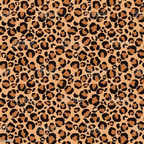 Leopard Print Seamless Pattern Stock Illustration ...