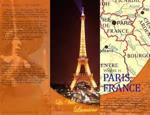 Paris Travel Brochure