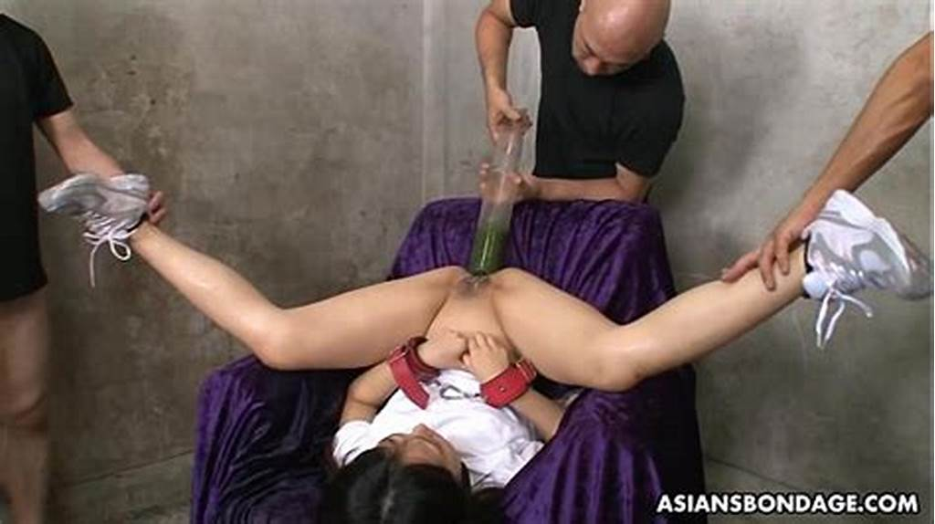 #Filling #Her #Ass #And #Pussy #With #All #Kinds #Of #Liquids