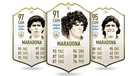 El mensaje de fifa 21 para homenajear a diego maradona. FIFA 21: el precio de la tarjeta de Maradona subió más del ...