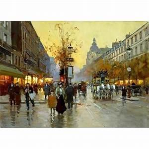 Peinture De Paris Poissy : tableau peinture a l huile paris 13 tableau tableaux ~ Premium-room.com Idées de Décoration