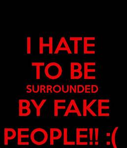 Quotes About Haters And Fake People. QuotesGram