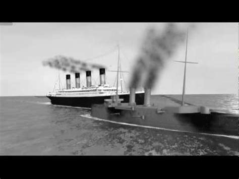 Titanic Sinking 3d by Rms Olympic Collision With Hms Hawke 3d Youtube