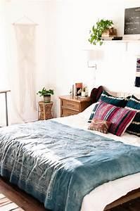 Deko Schlafzimmer Accessoires : bohemian style f r ein romantisches schlafzimmer in wei ~ Michelbontemps.com Haus und Dekorationen