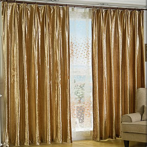 Gold And White Blackout Curtains by Gold Velvet Fabric Curtains For Thermal And Blackout