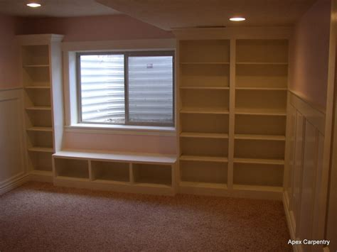 Built In Bookcases Bedroom Minimalist Yvotubecom