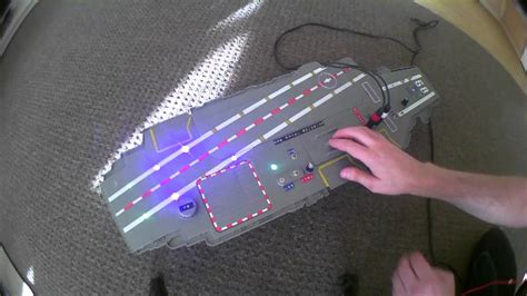 Circuit Bent Aircraft Carrier Jet Toy Freeform