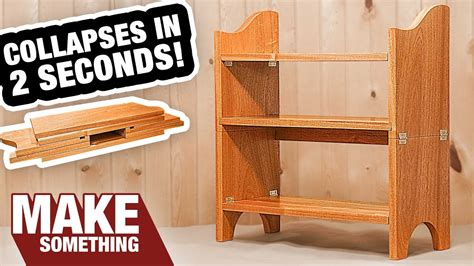 incredible collapsible bookcase  gotta