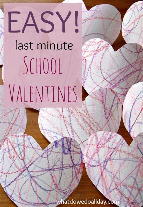 super easy valentines   preschool friends