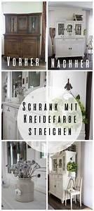 Furnierte Möbel Streichen : wohnzimmer schrank mit kreidefarbe gestrichen ~ A.2002-acura-tl-radio.info Haus und Dekorationen
