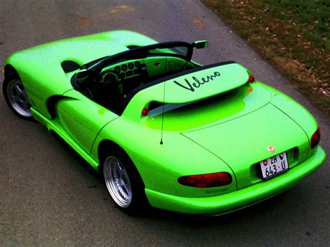 Rinspeed Veleno (1993) - Old Concept Cars