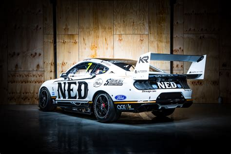 kelly racing unveils heimgartner mustang speedcafe