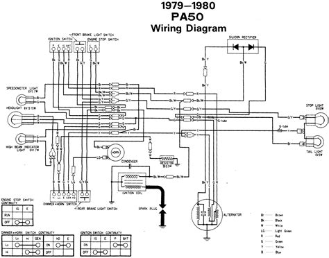 re wiring diagram 1980 honda pa 50 moped army