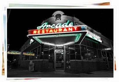 Arcade Restaurant Memphis Exterior Tennessee Elvis Pancakes